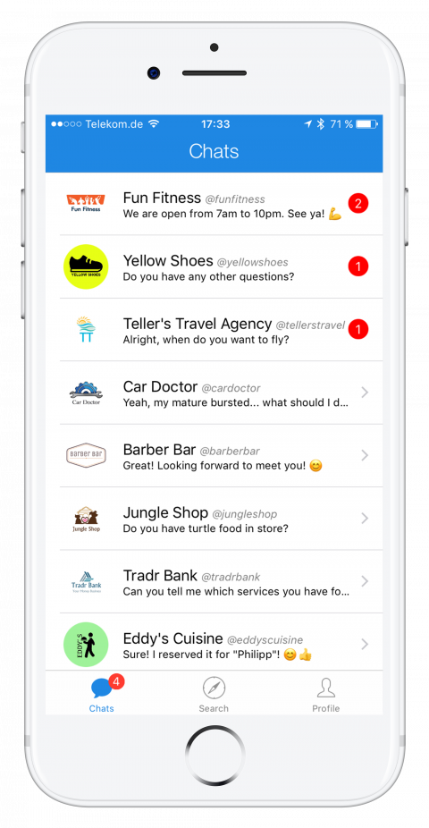thismo messenger app for users