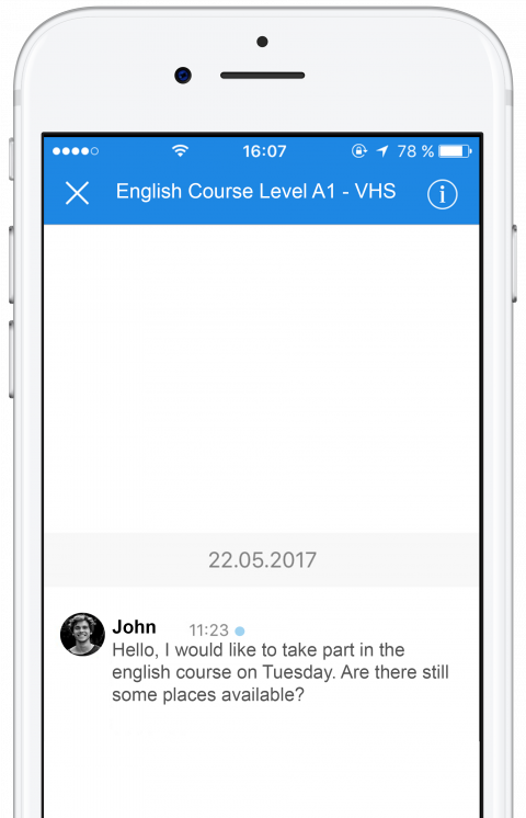 apply for jobs or book courses via thismo messenger app