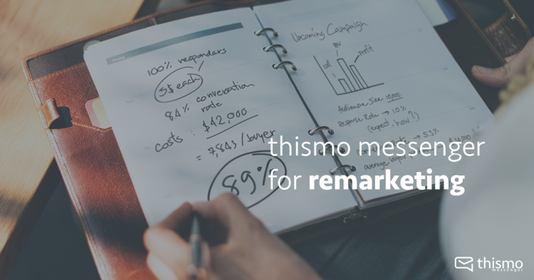 thismo messenger for remarketing